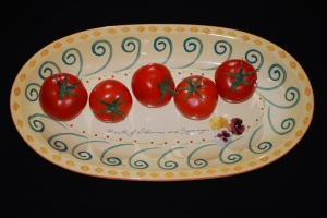 Autumn Tomatoes by Jenna M.