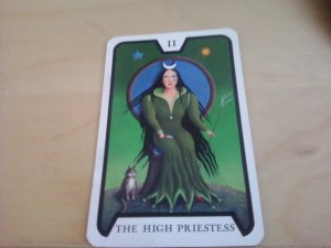 The High Priestess, Tarot of the Witches